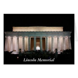 リンカーン記念館 カード