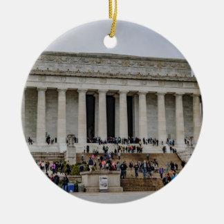 リンカーン記念館 セラミックオーナメント