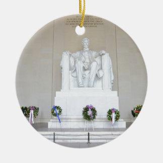 リンカーン記念館。 セラミックオーナメント