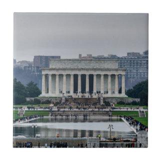 リンカーン記念館 タイル