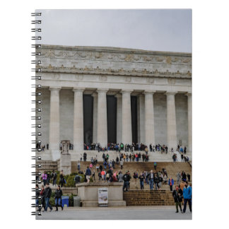 リンカーン記念館 ノートブック