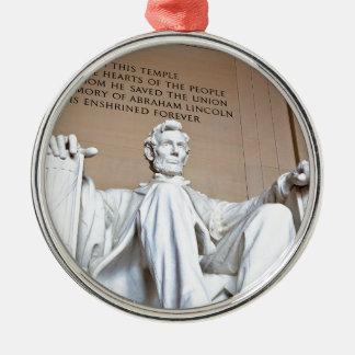 リンカーン記念館 メタルオーナメント