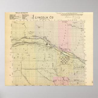 リンカーン郡、ネブラスカ ポスター