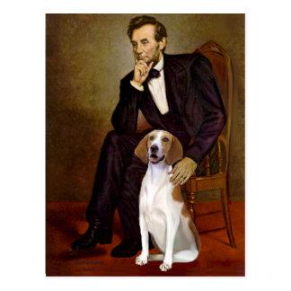 リンカーン-アメリカFoxhound ポストカード