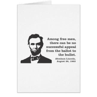 リンカーン カード