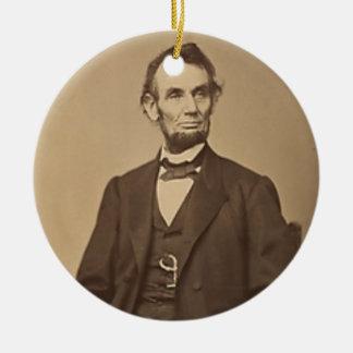 リンカーン セラミックオーナメント