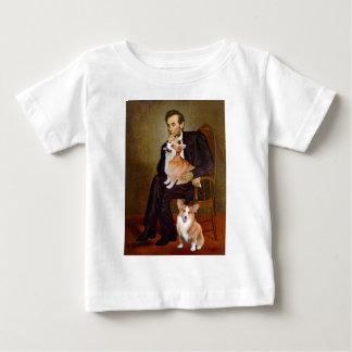 リンカーン-ペンブロークのウェールズのコーギー(2) ベビーTシャツ