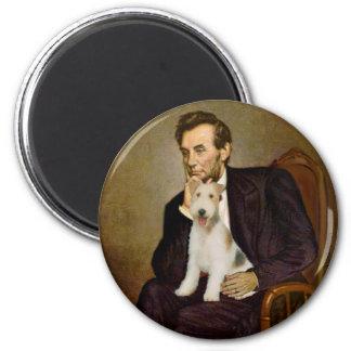 リンカーン-ワイヤーフォックステリア犬#1 マグネット