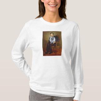 リンカーン- (f) Keeshond Tシャツ