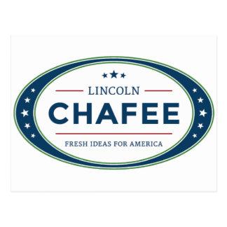 リンカーンChafeeの大統領選挙2016年 ポストカード