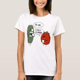 リンクはZee Underbarrの女性にあります Tシャツ
