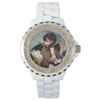リンク男の子としてキューピッド 腕時計