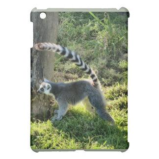リングによって後につかれるLemur iPad Miniカバー