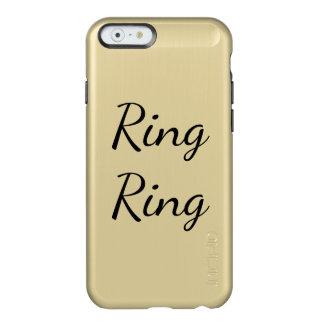 リングのリングの電話箱 INCIPIO FEATHER SHINE iPhone 6ケース