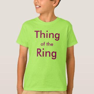 リングの事 Tシャツ