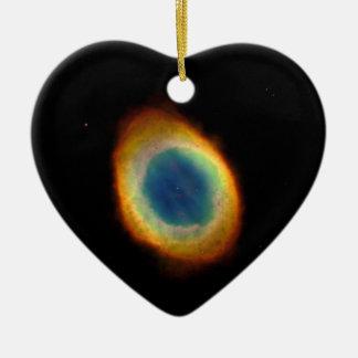 リングの星雲(ハッブルの望遠鏡) セラミックオーナメント