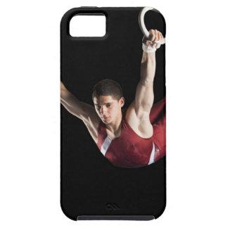 リングや輪から振れている体育専門家 iPhone SE/5/5s ケース