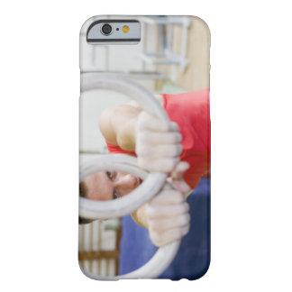 リングや輪のオスの体育専門家 BARELY THERE iPhone 6 ケース