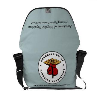 リングサイドの医者のメッセンジャーバッグの連合 メッセンジャーバッグ