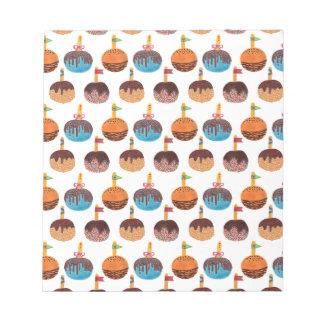 リンゴ飴 ノートパッド