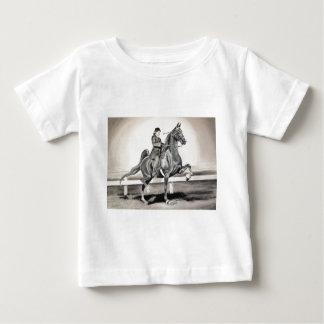 リンダDalziel著女の子そして夢 ベビーTシャツ