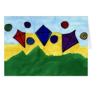 リンダKinchley著凧 カード