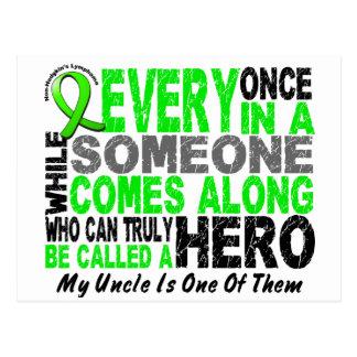リンパ腫の英雄によっては1人の叔父さんが現れります ポストカード