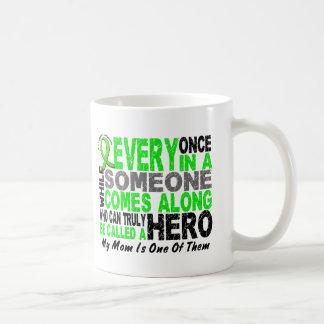 リンパ腫の非Hodgkins英雄によっては1人のお母さんが現れります コーヒーマグカップ