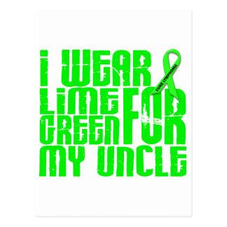 リンパ腫Iの衣服のライムグリーン16の叔父さん ポストカード