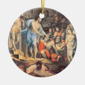 リンボー界、c.1530-35 (パネル)のキリスト セラミックオーナメント