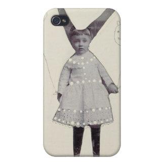リンWhipple著ninnyのバニー女の子 iPhone 4 カバー