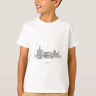 リヴァプールの水辺地帯 Tシャツ