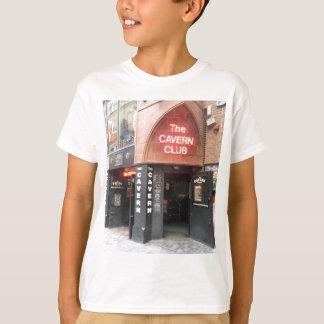 リヴァプールのMathewの通りの洞窟クラブ Tシャツ
