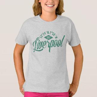 リヴァプール市はTシャツを調整します Tシャツ