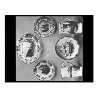 リヴァプール陶器の標本 ポストカード