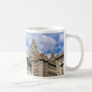 リヴァプール-レバー建物 コーヒーマグカップ