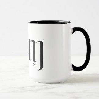 「リーアム」の回転ambigramのコーヒー・マグ マグカップ