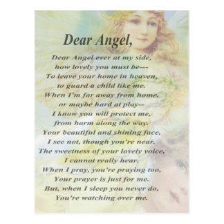 リースとの天使 葉書き