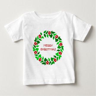 リースの挨拶-ベビーのTシャツ ベビーTシャツ