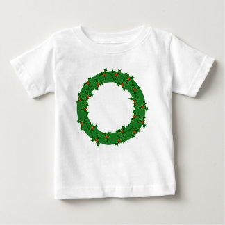 リース ベビーTシャツ