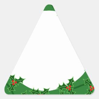 リース 三角形シール
