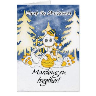 リーズのクリスマスのドラゴン- Eyupのtisのクリスマス カード
