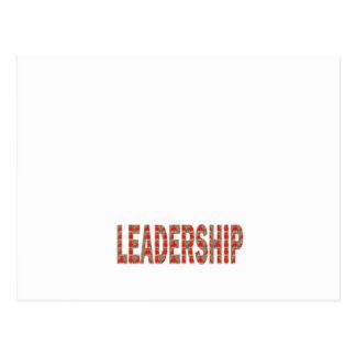 リーダーシップ: コミュニティ、ビジネス、低価格政治 ポストカード