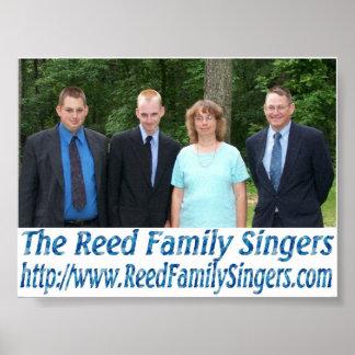 リード家族の歌手ポスター ポスター