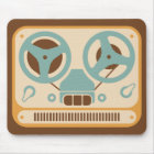 リールアナログのテープレコーダ マウスパッド