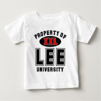 リー大学の特性 ベビーTシャツ