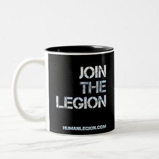 リーXin軍隊のマグ ツートーンマグカップ