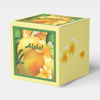 ルアウ(ハワイ式宴会)のパーティーの食糧好意箱 フェイバーボックス
