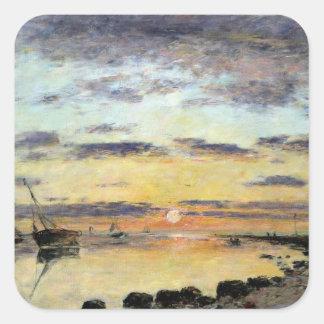 ルアーブル1889年(キャンバスの油) スクエアシール