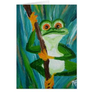 ルイおもしろいなカエル-挨拶状 カード